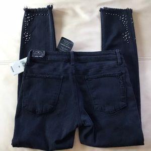 Lucky Brand Black Lolita Skinny Jeans Size 2/26